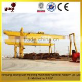 Gantry crane used in factory