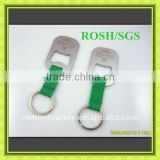 Hot Eco-friendly Green Lanyard Bottle Opener Keychain
