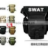 Multi-Function SWAT Wasit Leg Pouch Bag Utility Tactical Waist Pack Nylon Carrier Bag in 6 Colors 11