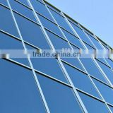 Hwarrior Wall Cladding Panels Exterior Low-E Glass Aluminium Visible Frame Curtain Wall Curtain Walls