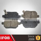 04466-12130 semi-metal/ceramic Brake pads for Toyota COROLLA ZZE141 3ZZFE IFOB wholesale
