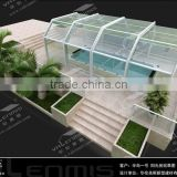hot sale wholesale aluminum alloy sun room garden sun rooms glass sun rooms ing fo shan Valenmis