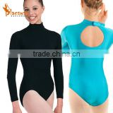 Girls long sleeve leotard gymnastic leotard