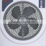 hotsale competitive price rechargeable fan with emergency light