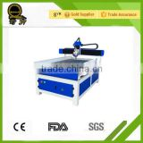 cnc router for wood, acrylic, mdf qili-6090 with rotary granite bridge saw metal detector cnc rotuer