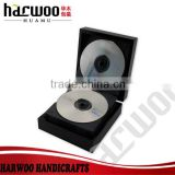 Beautiful wooden CD storagr case with plastic tray