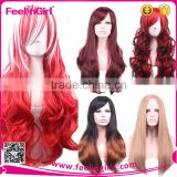 No MOQ Newest Arrival Fashion Women Long Top Wig