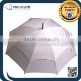 Solid Color Fabric Material Outdoor Double Canopy Golf Umbrella