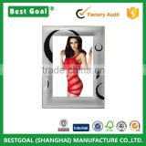 Home decorative silver metal australia sex photo frame                                                                                         Most Popular