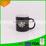 Matt Black Chalk Mug