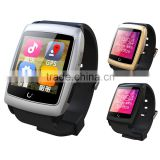 Newest U18 Android 4.4 Dual core MTK6571 Smart Watches Bluetooth WIFI GPS Pedometer Sleep Monitoring Compass watch