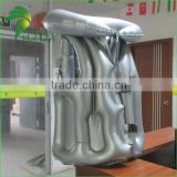 New Cool Inflatable Silver Helium Balloon / Costume Fat Suit / Wearable Inflatable Suit For Swimming