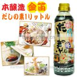 Best-selling Kinbue soy sauce base of Japanese seasoning soup using for various food 1L