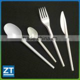 Full Length Heavy Weight White Plastic Cutlery                                                                         Quality Choice