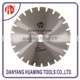Laser welded segmented small diamond saw blade fot long life cutting extremely abrasive material