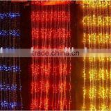 beautiful automatic color changing led curtain light