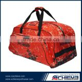 custom ice hockey bag with beautiful artwork
