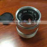 Factory Price,33mm F1.6 CCTV TV Lens for Olympus EP5 EPL6 EPM2 EM5 EM1 EM10 / G6 GH4 GF6 GX1 GX7 Camera PA250
