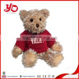 China factory direct sale custom made cute teddy bear plush toy