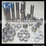 Industrial titanium nuts and bolts