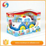 Hot selling cute cartoon classic babies racing vehicle mini car toy