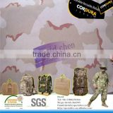 nylon cordura flame retardant coating travelling bag camouflage fabric