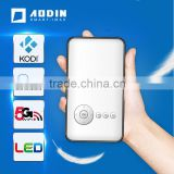 Small Mini Mobile Projector Pocket Portable Android RK3128 Quad Core 1080P HD Video LED DLP Smart Projector Aodin D02 M6 M8 Plus
