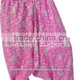 2150 Vintage Silk Sari Afghani afgani Trouser pant pants beachwear pants sari Garments india