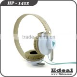 New high grade stainless steel headband on-ear headphones with mic from BSCI manufacturer