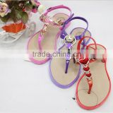 Latest Ladies Slippers Shoes And Sandals Pvc Straps Slippers                                                                         Quality Choice