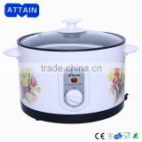 Electric round deep fryers home use