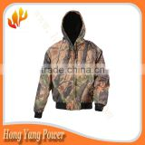 Battery Heated hunt jacket, battery heated jacket ,camo electrical jacket
