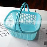 with two handles food grade plastic fruit and vegetable basket