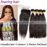 wholesale virgin natural high quality crochet braids with human hair