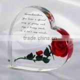 #CW-01,crystal wedding gifts,crystal heart-shaped gifts