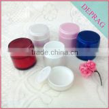 Promotional sell cosmetics container luxury acrylic cream 80ml 50ml cream jar 50ml golden packaging acrylic bottle