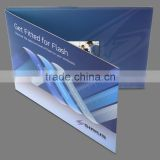 "most popular souvenir 2.4"" video brochure card,video business card,usb business card"
