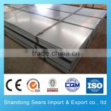 Tianjin manufacture 18 gauge galvanized sheet/aluzinc coated galvanized steel sheet/24 gauge galvanized roofing sheet