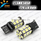27-SMD 7443 T20 LED Light Bulbs Car T20 5050 SMD LED Wedge Rear Back Up Reverse Turn Signal/Tail Brake Lamp Bulbs White red blue