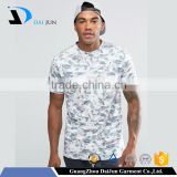 Daijun OEM White Breathable100 polyester dye sublimation men softtextilet t shirt printing