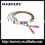 rainbow colours Speed Jump Rope Weight Loss for Sale Beautiful Girl Weight Lose ultra slim weight loss