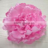 22cm silk artificial pink peony flower head bulk wholesale artificial flower
