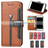 flip wallet leather cell mobile smart phone case cover for Alcatel flash 3 2 one touch pop star 3 5 fierce xl pixi 3 4.5