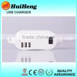 5A Factory price 6 port usb desktop wall charger super capacitor portable travel charger