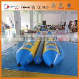2016 New design giant Inflatable banana boat fruits Waterpark