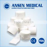 Medical use hospital surgical disposable absorbent orthopedic padding under cast padding