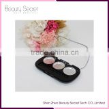Oval Empty makeup cardboard palette for eyeshadow, eyebrow, blush