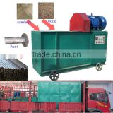 2016 hot sale cotton straw biomass charcoal rods making machine