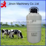 YDS-10A 10L long canister biological liquid nitrogen container for artificial insemination