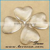 Various Shape DIY Jewelry Cabochon 8-30MM Flat Back Clear Crystal Glass Cabochon
